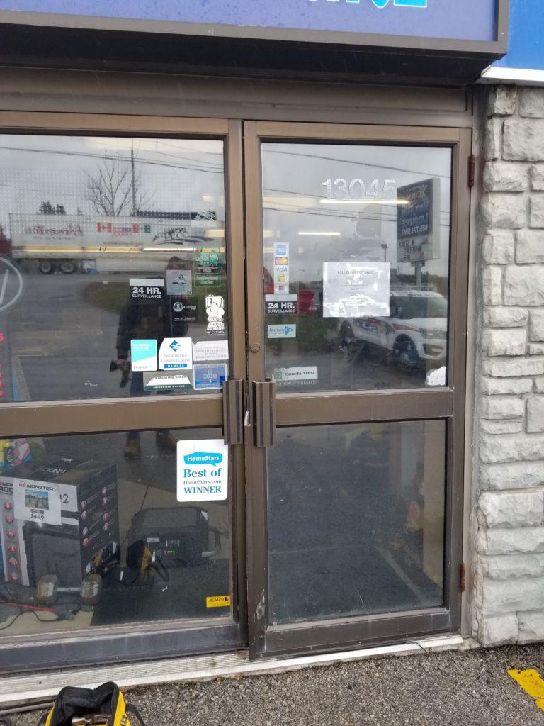 Commercial Door Install